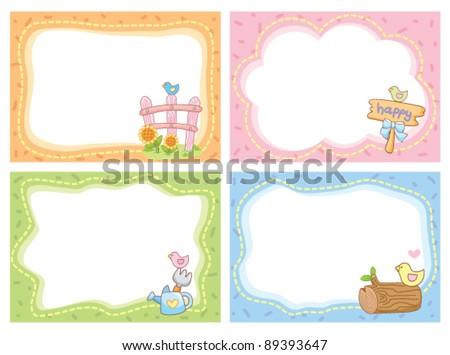 Farm Frame Stock Vector 89393647 - Shutterstock