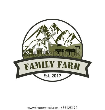 farm logo stock images royaltyfree images amp vectors