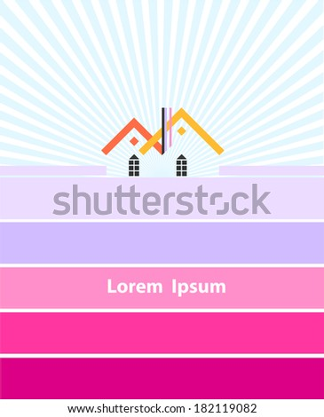 Farm Vector. - stock vector