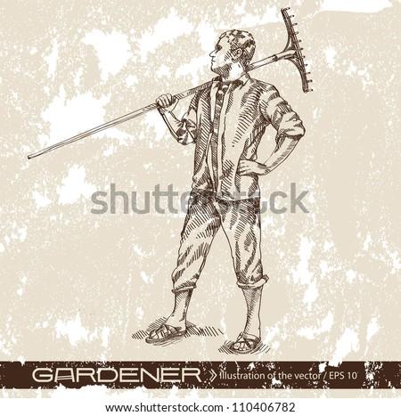 farmer - stock vector