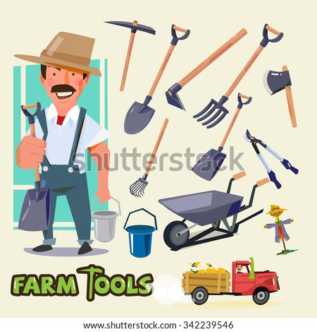 Farmer Tools Stock Images, Royalty-Free Images & Vectors ...