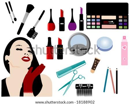 Fashion accessories - stock vector