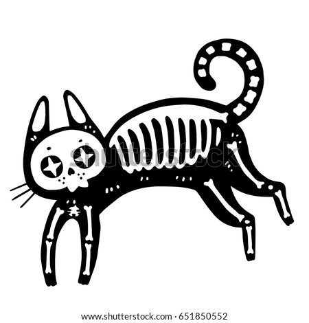 Image Result For Pete Cat Coloring Page Stock Vector