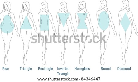 Fashion Figures - stock vector