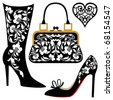 Fashion illustration - stock vector