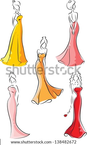 Fashion women - stock vector