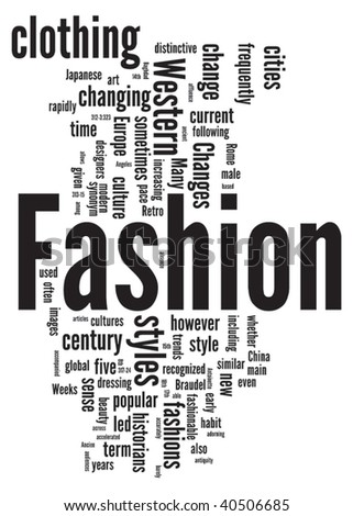 Word Fashion Stock Photos Images Pictures Shutterstock