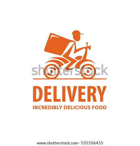 Bicycle Fast Food Logo