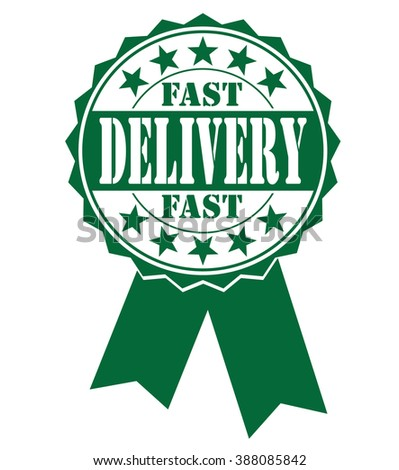 Fast delivery  icon, vector illustration