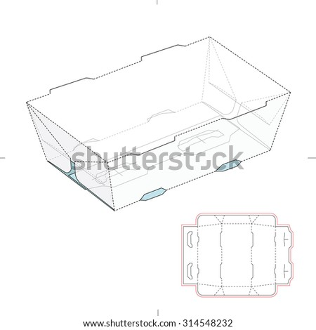 Stock images royalty free images vectors shutterstock for Paper food tray template