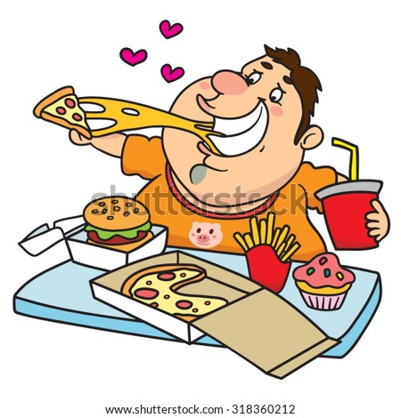 Cartoon Eating Food Stock Images, Royalty-Free Images ...