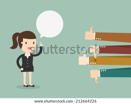 Feedback - stock vector