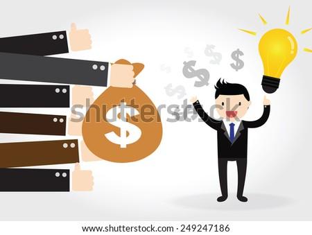 Feedback, business concept - stock vector