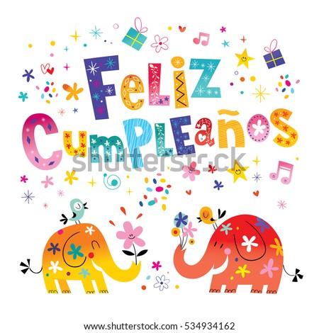 cumpleanos stockfoto's, rechtenvrije afbeeldingen en vectoren, Birthday card