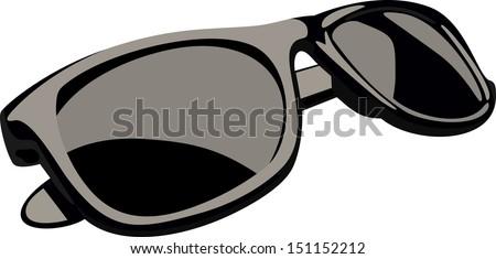 Female sunglasses - stock vector