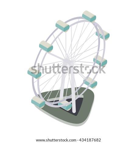 Ferris Wheel St... Ferris Wheel Vector Free Download