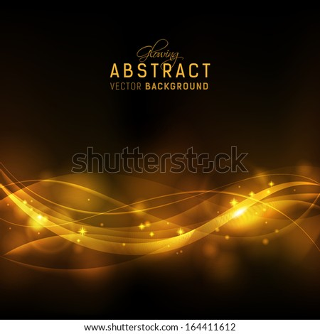 festive abstract background with copyspace for your text - stock vector