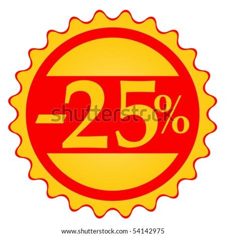 Festive Sale vector tags - stock vector