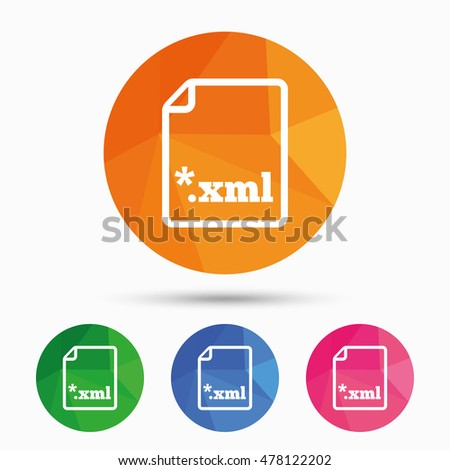 how to download xml file from website
