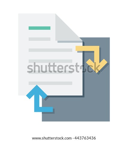 File Sharing Vector Icon