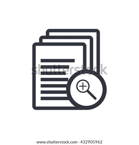 Files Zoom In Icon, Files Zoom In Eps10, Files Zoom In Vector, Files Zoom In Eps, Files Zoom In App, Files Zoom In Jpg, Files Zoom In Web, Files Zoom In Flat, Files Zoom In Art, Files Zoom In Ai - stock vector