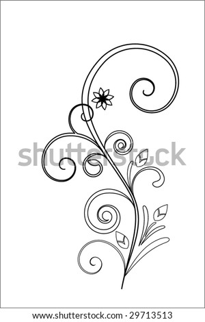 chocolate filigree templates - stock images similar to id 196228055 vector green 3d