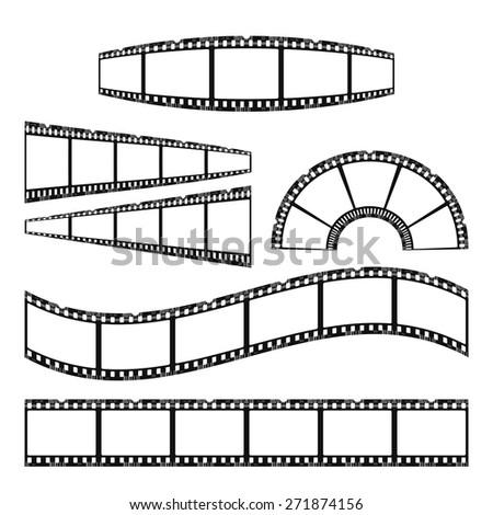 film - stock vector