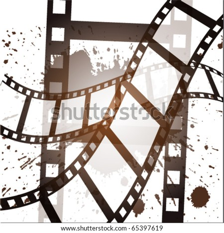 Film background - stock vector