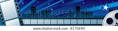 Film festival - stock vector