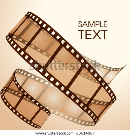 Film strip - stock vector