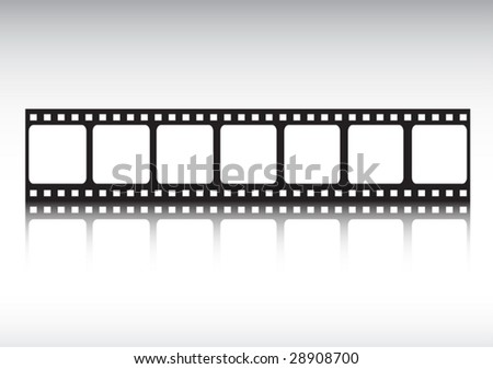 Film strip reflected