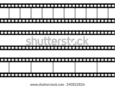 Film Strips. Vector
