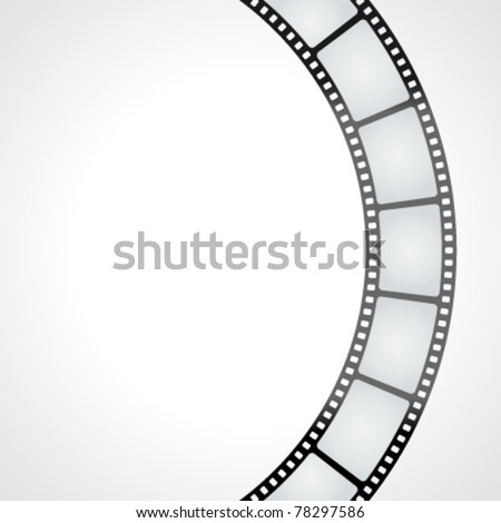Film tape vector background. Eps 10. - stock vector