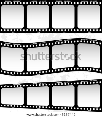 Film (vector) - stock vector