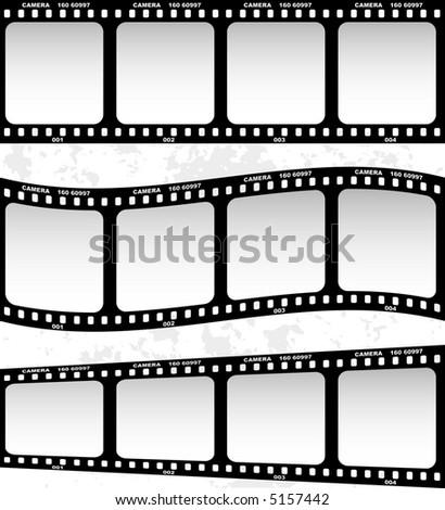 Film (vector) - stock vector
