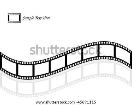 filmstrip vector illustration - stock vector