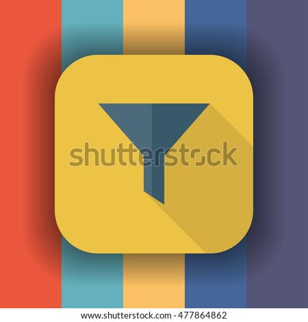 filter icon, filter icon flat, filter icon symbol, filter icon sign, filter icon app, filter icon art, filter icon vector
