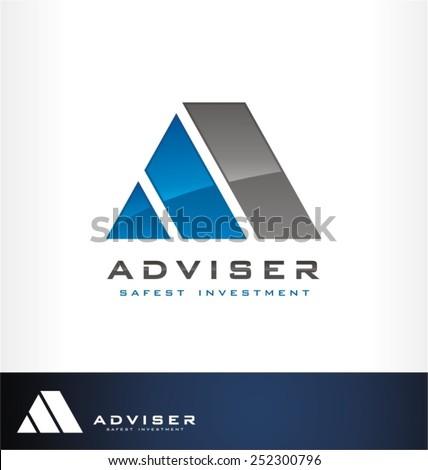 finance adviser - stock vector