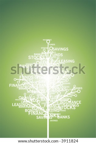 Finance, concept - stock vector
