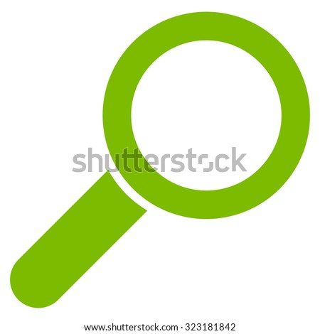 Find vector icon. Style is flat symbol, eco green color, rounded angles, white background.