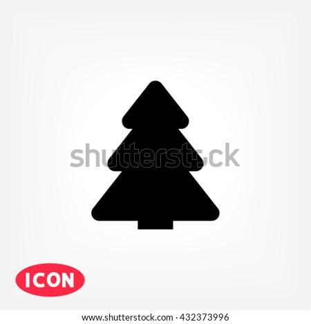 Fir-tree Icon, fir-tree icon flat, fir-tree icon picture, fir-tree icon vector, fir-tree icon EPS10, fir-tree icon graphic, fir-tree icon object, fir-tree icon JPEG, fir-tree icon picture - stock vector