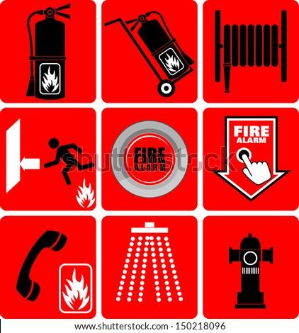 Fire Alarm - stock vector