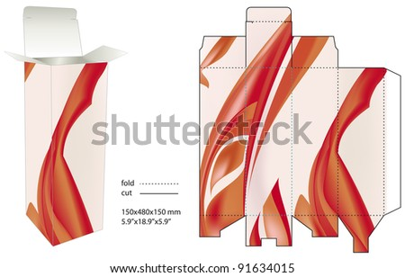 Fire box - stock vector