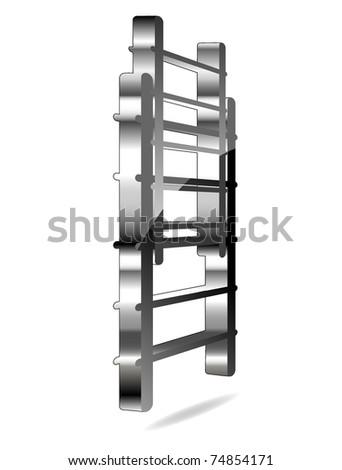 Fire-escape icon - stock vector