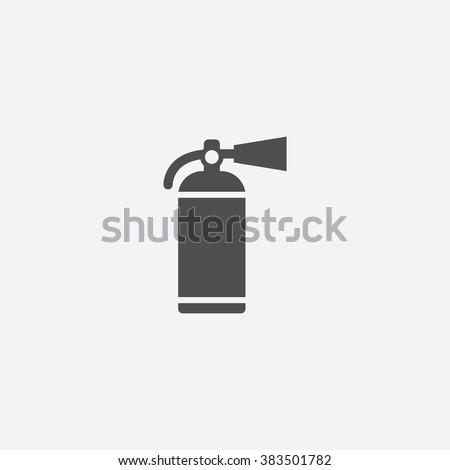 fire extinguisher Icon. fire extinguisher Icon Vector. fire extinguisher Icon Art. fire extinguisher Icon eps. fire extinguisher Icon Image. fire extinguisher Icon logo. fire extinguisher Icon Sign - stock vector