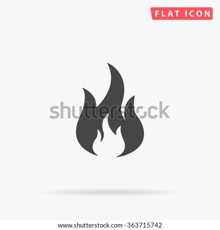 Fire Icon.  - stock vector