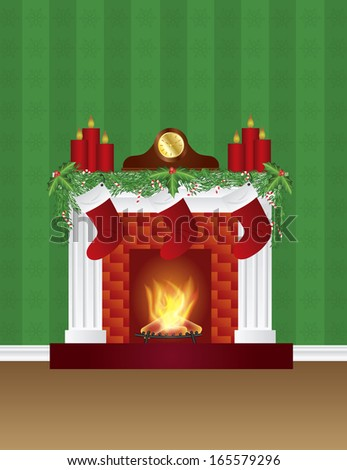 Fireplace Logs Stock Images Royalty Free Images Amp Vectors