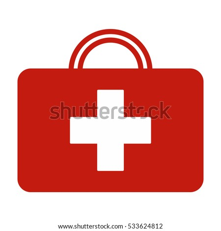 First Kit Aid vector, isolated on White background.