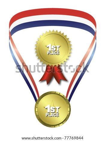 First place medals
