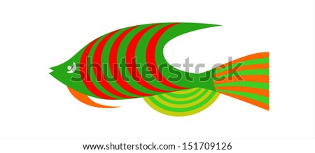Fish  - stock vector